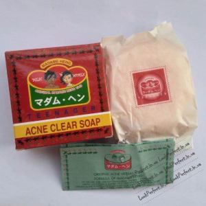 Травяное лечебное мыло Acne Clear Soap Madame Heng 150g