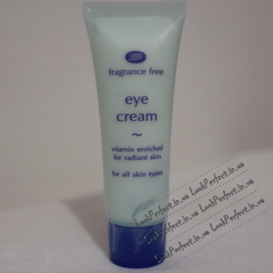 Крем для век Fragrance Free Eye Cream от Boots