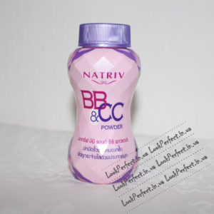 Пудра NATRIV BB and CC Face Powder