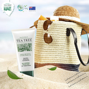 Пенка для умывания  с маслом чайного дерева Tea Tree: oil control facial foam