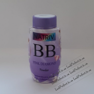 Рассыпчатая ВВ пудра с турмалином и UV защитой Natriv BB Pink Diamond Powder