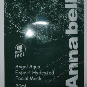 Маска для лица со спирулиной и центеллой Anna Bella Angel Aqua Expert Hydrated Facial Mask