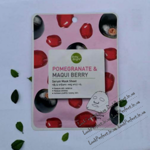 Нічна маска вiдновлююча з екстрактом граната Promegranate Maqui Berry Serum Mask Sheet Baby Bright