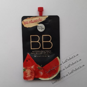 Матирующий BB Крем Для Лица С Арбузом И Томатом c SPF-фильтром BABY BRIGHT BB WATERMELON & TOMATO MATTE BB CREAM SPF 45 PA++