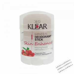 Дезодорант кристалл  DeoKlear  Skin Enhance Brightening Formula Gogi Berry