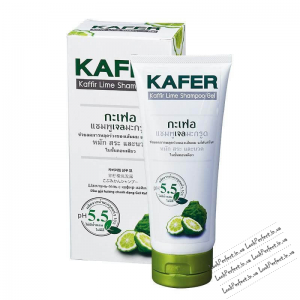 Шампунь -гель уходовий с каффирским лаймом Kafer/ Kaffir lime shampoo gel